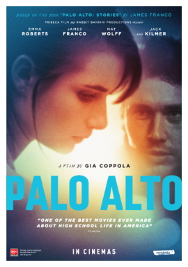 PALO ALTO - in Australian cinemas from today on!