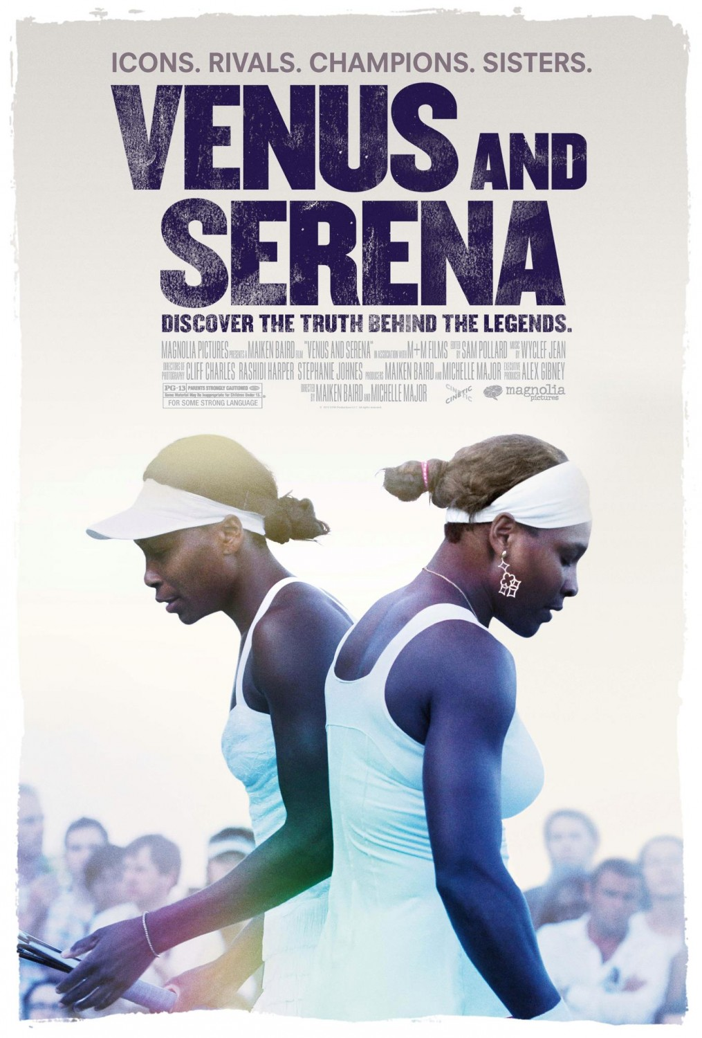 VENUS AND SERENA SMASH THEIR WAY ON TO THE SCREEN
